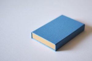 ボックス型名刺ケース(外側) カラー:ライトブルー×イエロー