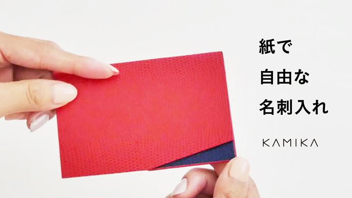 クラウドファンディング動画KAMIKA