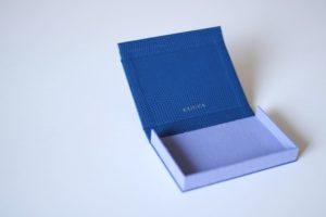 ボックス型(ブルー×ライラック)
