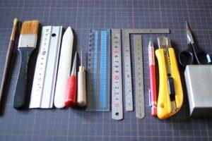 厚紙工芸道具